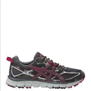 ASICS Gel-Scram 3 Camo Gray Pink Running Shoes